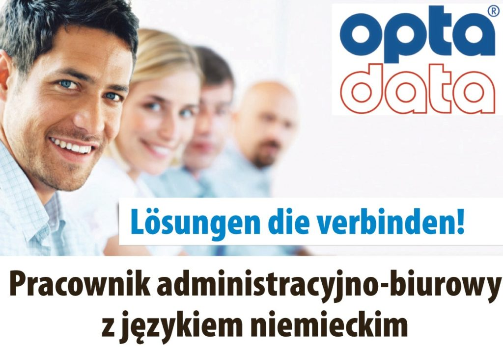 Pracownik administracyjno-biurowy z językiem niemieckim