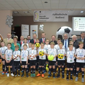 Fussballschule in Bodland eröffnet
