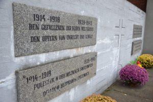 In Groß Döbern gibt es schon ein Denkmal für Opfer der beiden Weltkriege Foto: Anna Durecka