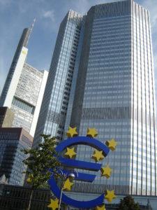 Eurotower in Frankfurt. Foto: Florian K./Wikipedia