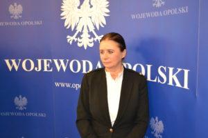 Foto 1: Nowym pełnomocnikiem wojewody opolskiego jest Bożena Kalecińska. Foto: Łukasz Biły.