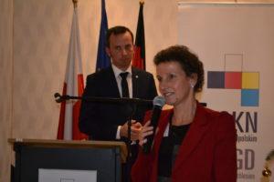 Konsulin der BRD in Oppeln Sabine Haake.
