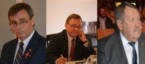 Bernard Gaida, Ryszard Galla, Henryk Hoch