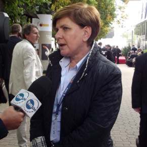 Premierministerin Beata Szydło in Berlin
