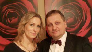 Foto2: Waldemar Świerczek und Ehefrau Katarzyna Foto: privat.