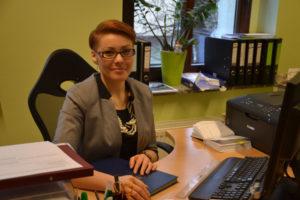 Natalia Jasik zajmuje się od 1 marca w TSKN sprawami kultury. Jej poprzedniczka, Zuzanna Donath-Kasiura, została zastępcą dyrektora biura TSKN. Foto: Anna Durecka