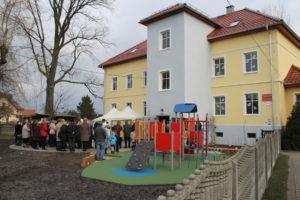Foto: Der Kindergarten erstrahlt im neuen Glanz Foto: K.Urban