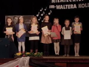 Die Teilnehmerinnen der Kategorie Grundschule Klassen 1 bis 3