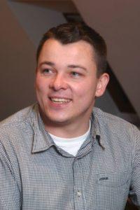Damian Hutsch, przewodniczący TSKN w powiecie oleskim. Foto: Norbert Nieslony