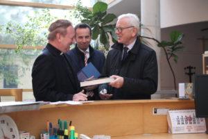 Hans Gert Pöttering, Rafał Bartek und Peter Tarliński.