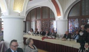 Delegiertenversammlung der Wohltätigkeitsgesellschaft in Groß Stein.