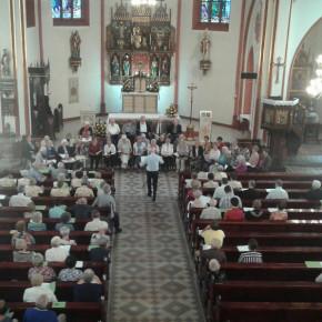 Chor aus Marburg singt in Lubowitz