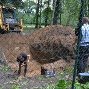 Niemieckie groby pod parkiem dla psów w Opolu?