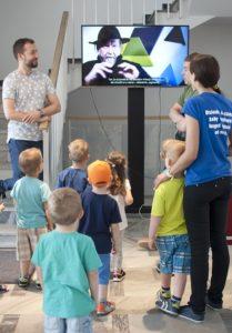 Begleitveranstaltungen zur Ausstellung der Arbeiten von Ben Muthofer in Oppeln.  Foto: Galeria Sztuki Współczesnej