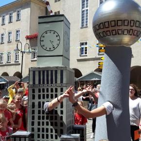 Oppeln: Kulturpalast und Fernsehturm reißen Grenze nieder