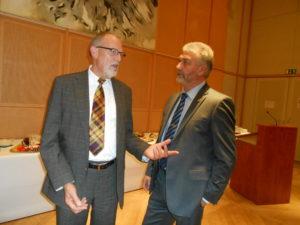 Hans Heinrich Hansen (links) und Hinrich Jürgensen (rechts). Foto: FUEN.