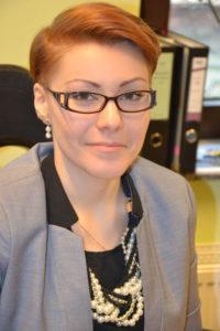 Natalia Jasik z referatu kultury TSKN Foto: A. Durecka