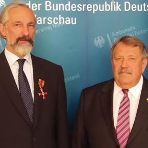 Bundesverdienstkreuz für Wiktor Marek Leyk