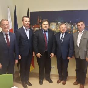 Konsul USA w Krakowie u Mniejszości / US-Konsul aus Krakau bei der Minderheit