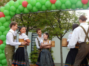 Im Rahmen der Deutschen Wochen werden unter anderem Tanzgruppen auftreten. Foto: Deutsche Botschaft Kiew.