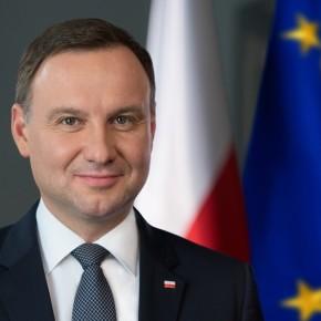 Prezydent Andrzej Duda w Strzelcach Opolski / Präsident Andrzej Duda in Groß Strehlitz