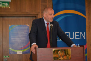 Rafał Dutkiewicz zawsze sprzyja dobrym kontaktom i spotkaniom z europejskimi mniejszościami.  Foto: Łukasz Biły