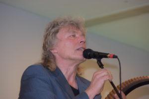 Panflötist Edward Simoni war der Star des Kreisfestivals in Sakrau bei Cosel Foto: K. Kandzia