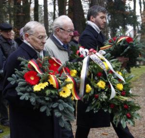 Für die Deutschen aus Nordpolen war der Volkstrauertag auch in diesem Jahr wichtig Foto: AGDM.