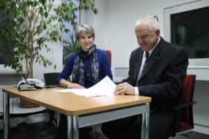 Christiane Buberl (z lewej) - Wicekonsul RFN z Opola.