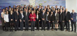 Getroffen hat sich die AGDM auch mit Bundeskanzlerin Angela Merkel.