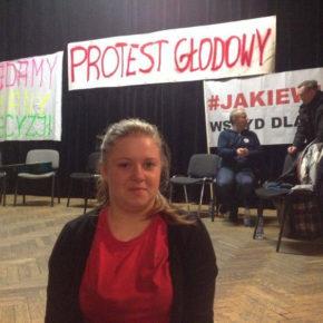 Strajk głodowy przeciw powiększeniu Opola. Niemiecka młodzież bierze udział