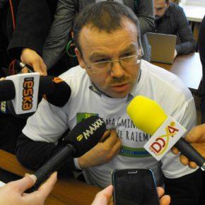 Piotr Szlapa - wierny swojej gminie, Marcin Gambiec odwołany