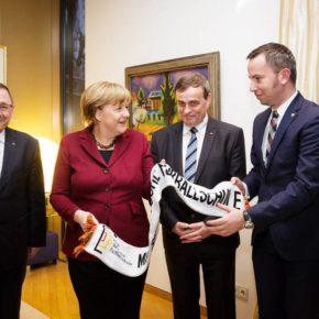 Angela Merkel trifft Deutsche Minderheit / Angela Merkel spotka się z Mniejszością Niemiecką