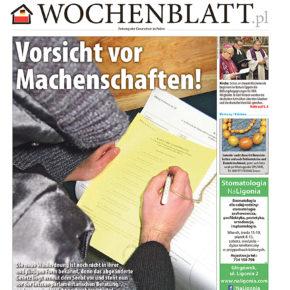 Die neue Ausgabe des Wochenblattes ist da / Nowe wydanie Wochenblatt.pl