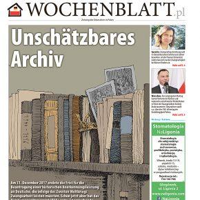 Neue Ausgabe des Wochenblatt.pl / Nowe wydanie Wochenblatt.pl