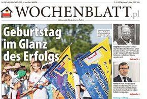 Die neue Ausgabe des Wochenblatt.pl ist da / Ukazało się nowe wydanie Wochenblatt.pl