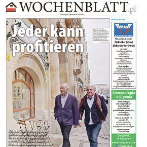 Neues Wochenblatt.pl ist da! / Ukazał się nowy Wochenblatt.pl!