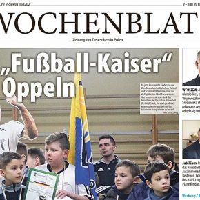 Neue Ausgabe des Wochenblattes / Nowe wydanie Wochenblatt.pl