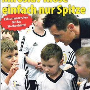 Exklusivinterview mit Miroslav Klose!