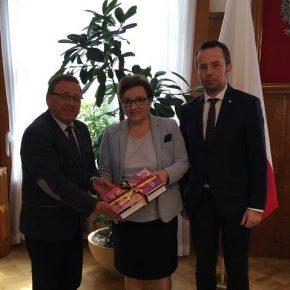 Mniejszość Niemiecka u minister Zalewskiej