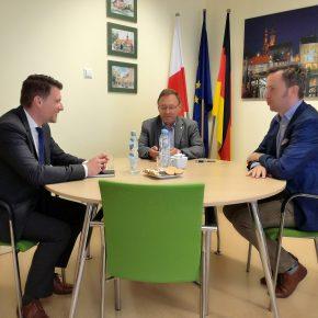 Besuch aus der Deutschen Botschaft