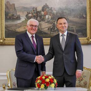 Gespräch mit Bundespräsident Steinmeier