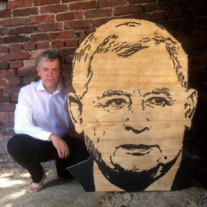 Kaczyński-Porträt: PiS-Chef aus Entenkot