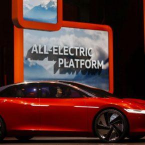 Volkswagen setzt auf E-Mobilität