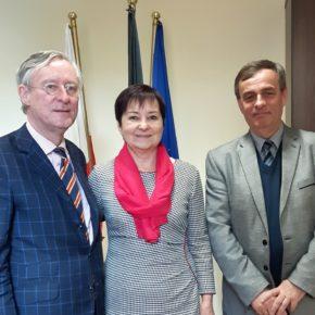 Gesandter aus Warschau besucht VdG