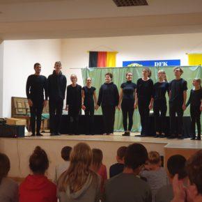 Deutsch auf der Bühne