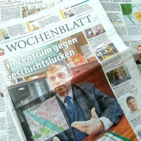 Wo bekomme ich das Wochenblatt? / Gdzie dostanę gazetę?