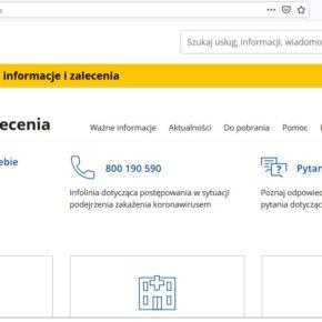 Aktuelle Informationen zum Coronavirus / Aktualne informacje o koronawirusie
