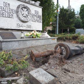 Zniszczone niemieckie dziedzictwo